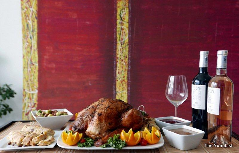 InterContinental Kuala Lumpur, festive menus