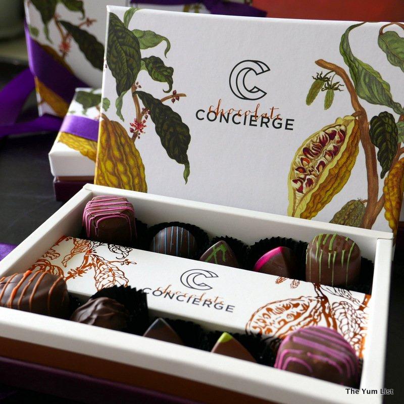 chocolate concierge, handcrafted fair trade chocolates