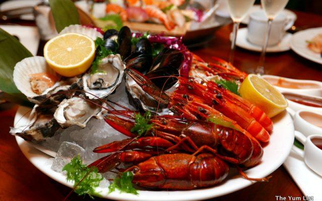 Shook! Sunday Seafood Brunch, Starhill Gallery, Kuala Lumpur