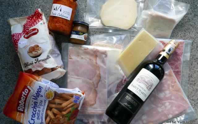 Bottega Mediterranea, European food delivery in KL