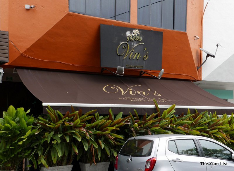 Vin's Restaurant & Bar, TTDI