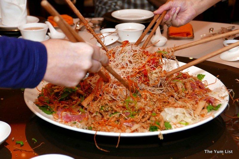 Li Yen, Ritz-Carlton Chinese New Year menu Kuala Lumpur