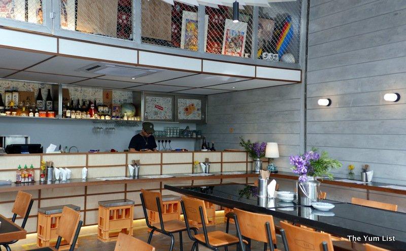 Kaiju Company, Japanese Thai Restaurant, Art Printing Works, Bangsar