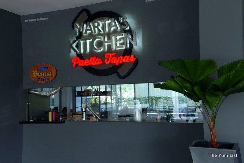 Marta's Kitchen, Spanish Food Kuala Lumpur