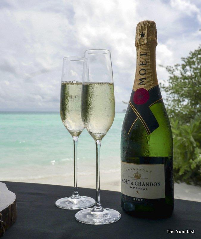 Taj Exotica Resort and Spa Maldives, Dining Options