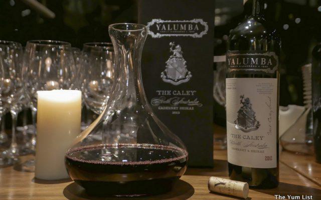 Yalumba wines in Malaysia
