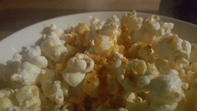 Spiced Popcorn at Joe's Bar, East Hotel, Canberra
