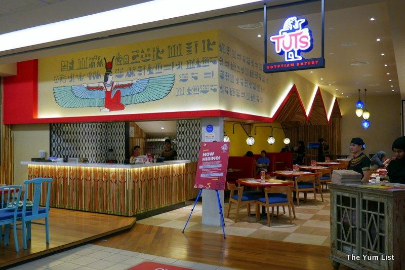 Tut's Egyptian Eatery, 1 Utama