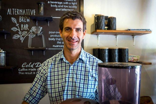 Derek Smith, Saffron Coffee, Luang Prabang