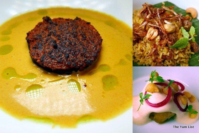 Nadodi, vegetarian menu
