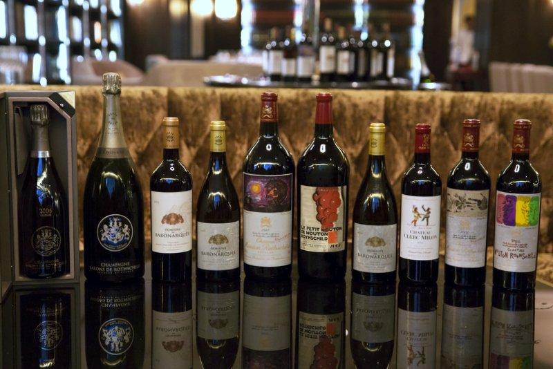 Baron Philippe de Rothschild SA Wine Dinner, Kuala Lumpur