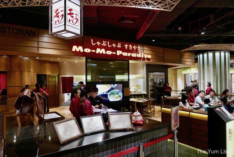 Mo-Mo Paradise, Shabu-Shabu & Sukiyaki, Lot 10 - The Yum List