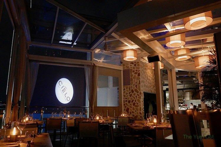Cielo KL, rooftop bar Changkat, seafood restaurant