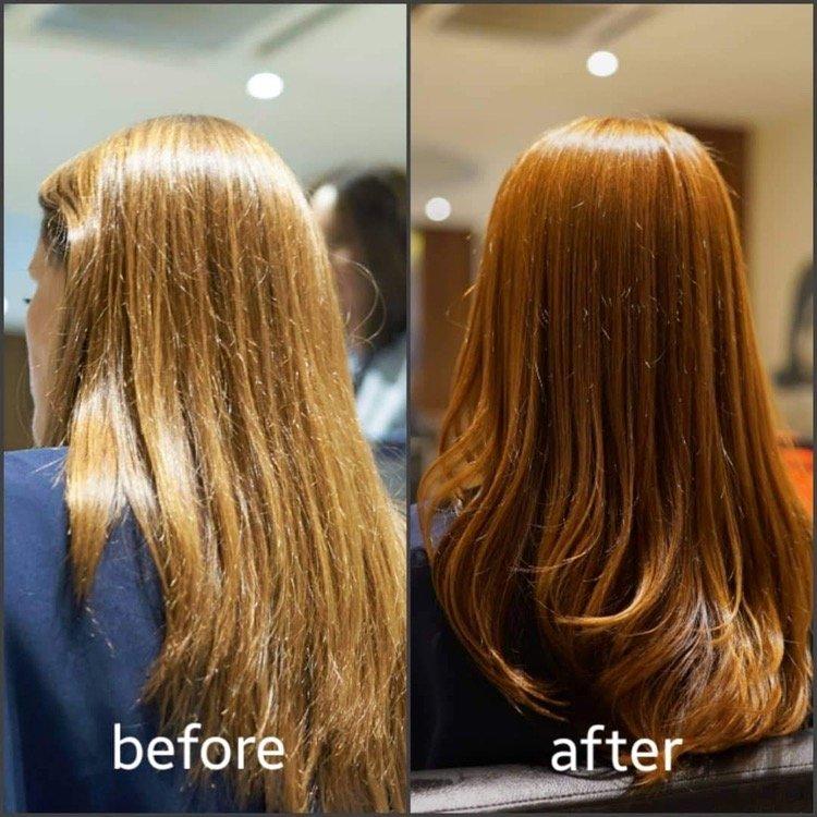 Organic Hair Colour Kuala Lumpur