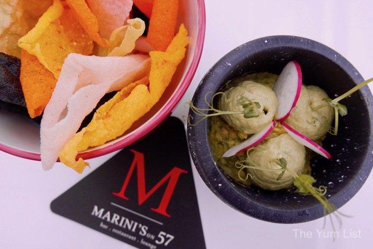 Marini's on 57 Menu, Happy Hours
