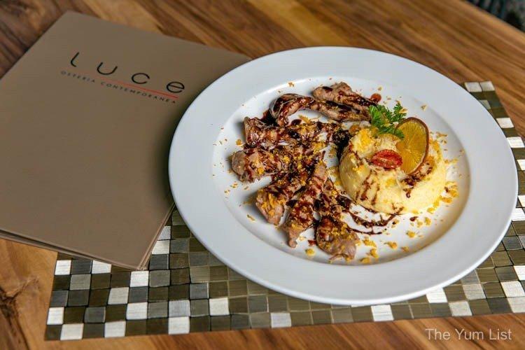 Luce Osteria, Italian Restaurant Old Maya