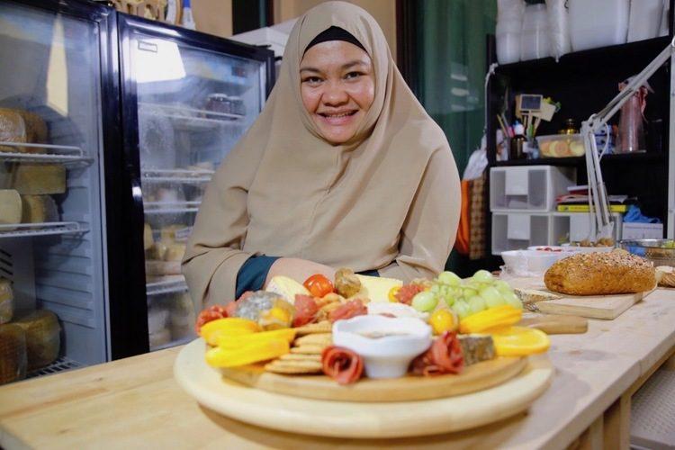 Annisa Iwan Cheesemaker KL Milky Whey Cheese Malaysia