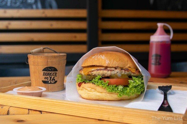 Burger on 16 Menu