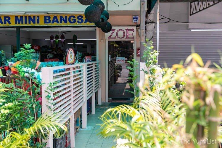 Zoe Bangsar Restaurant Jalan Kemuja