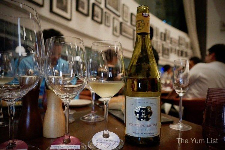 Maison Les Alexandrins Côtes du Rhône Blanc 2016