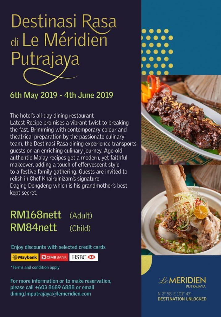 Putrajaya Ramadan Menu