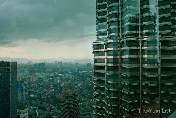 View from Nobu Kuala Lumpur