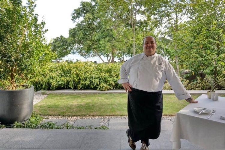 Chef Federico Zapperi Terrace Italian Restaurant Langkawi