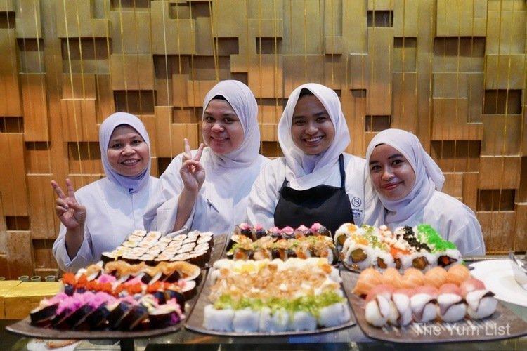 best hotel buffets KL