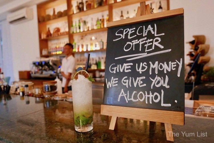 Craft cocktail bar Kuching