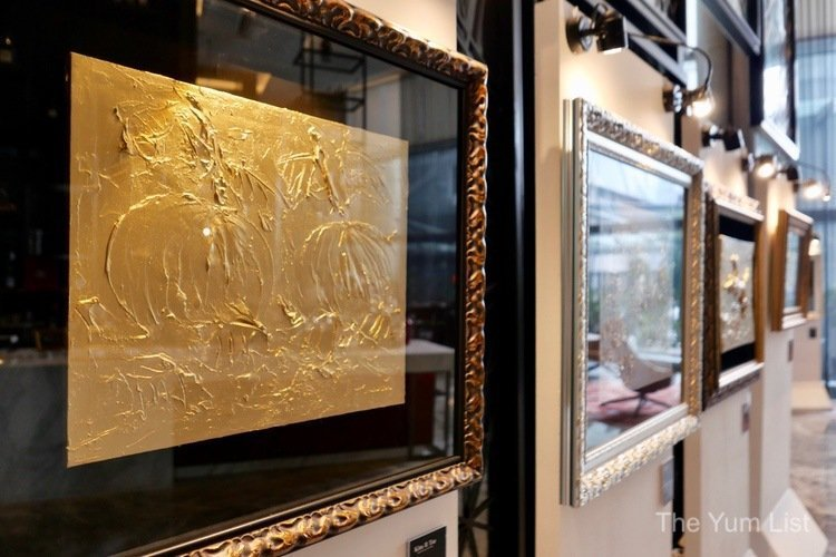 24K Gold Painting Exhibition