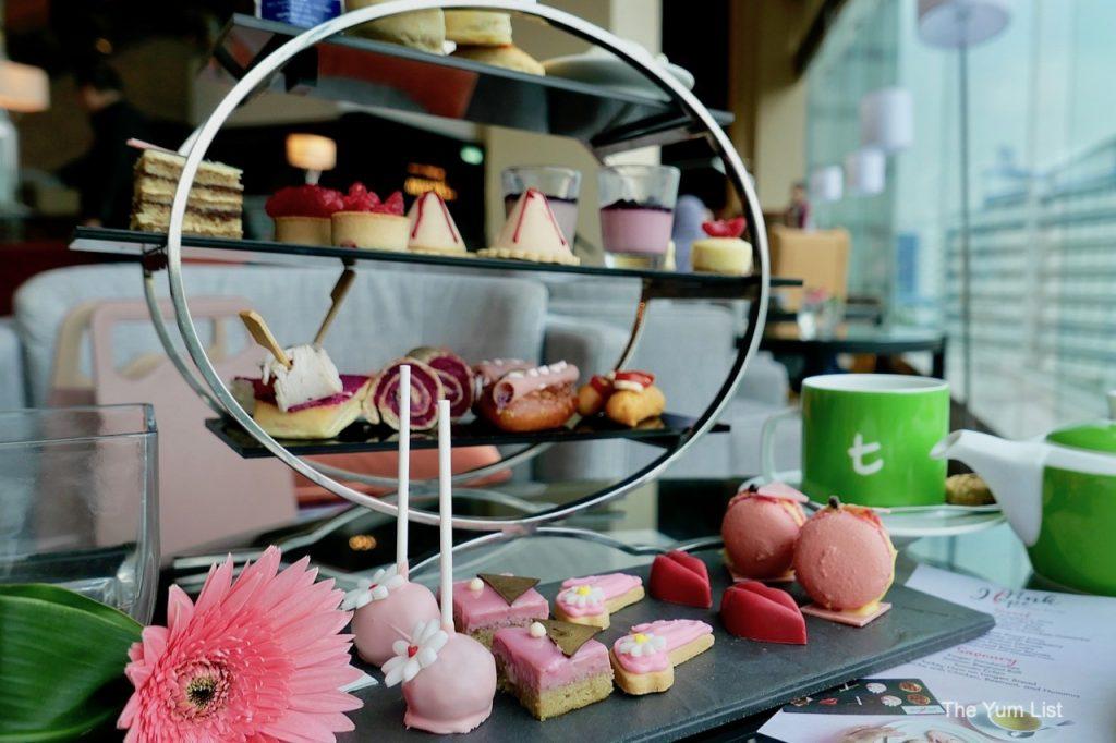 Pink Hope Afternoon Tea Hilton KL