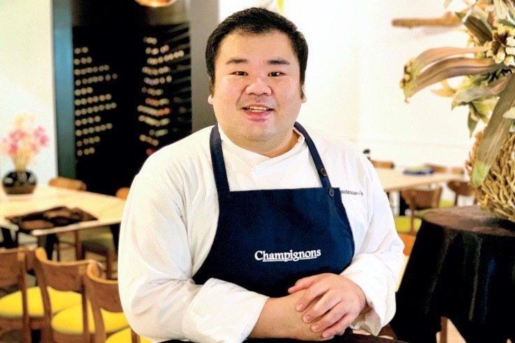 Chef Gary Chung Champignons at Oasis