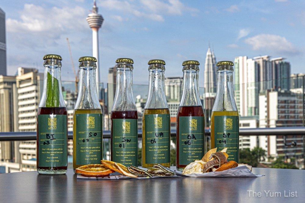 A Journey of Six Senses Bottled Cocktails Jann Bar