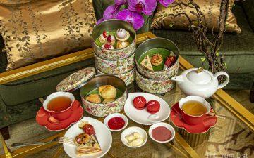 Pink Afternoon Tea, Shangri-La Kuala Lumpur
