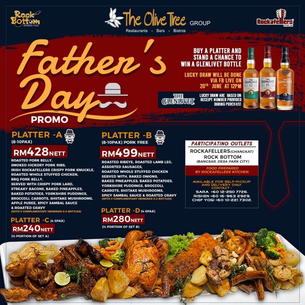 Father's Day Kuala Lumpur 2021
