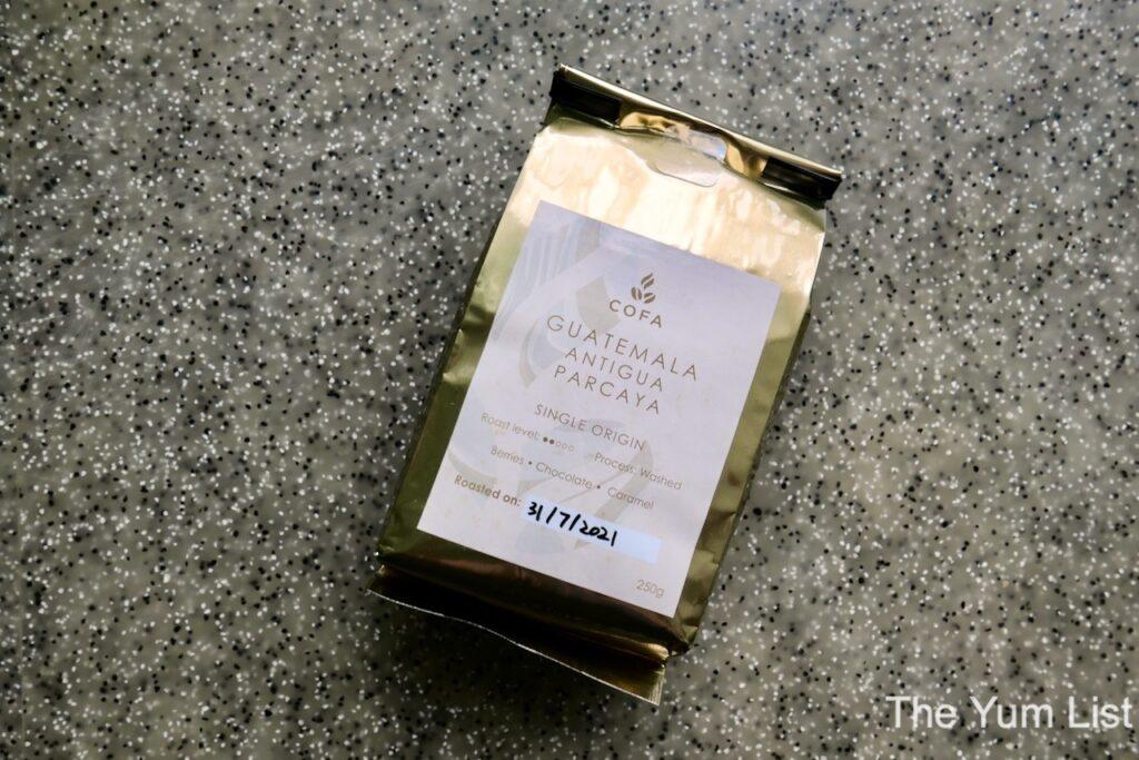 COFA Coffee Bean Roastery Malaysia