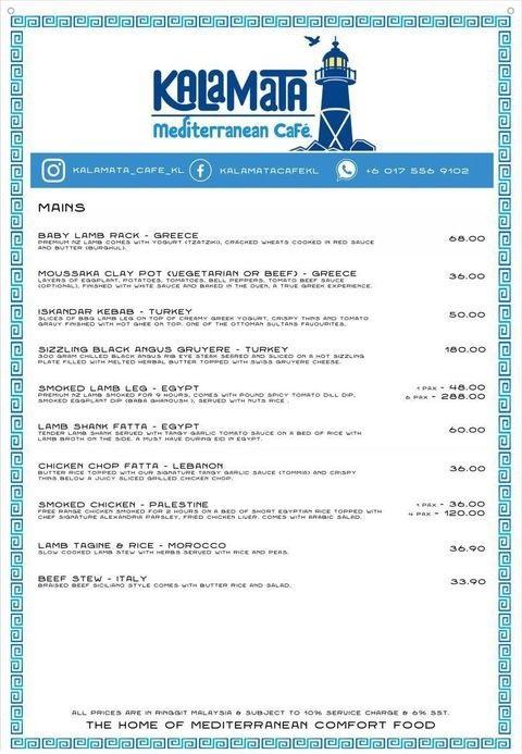 Mediterranean Restaurant Malaysia