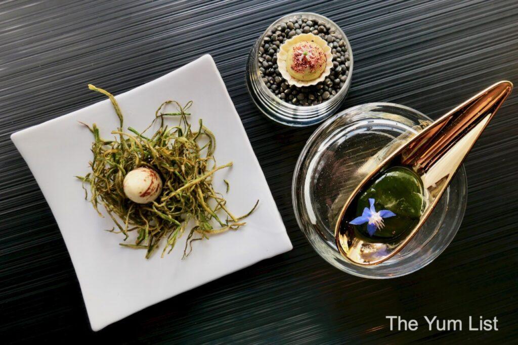 French-Indian Vegetarian Degustation FLOUR